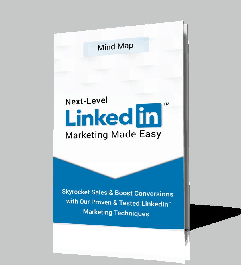 Next Level LinkedIn Marketing MindMap