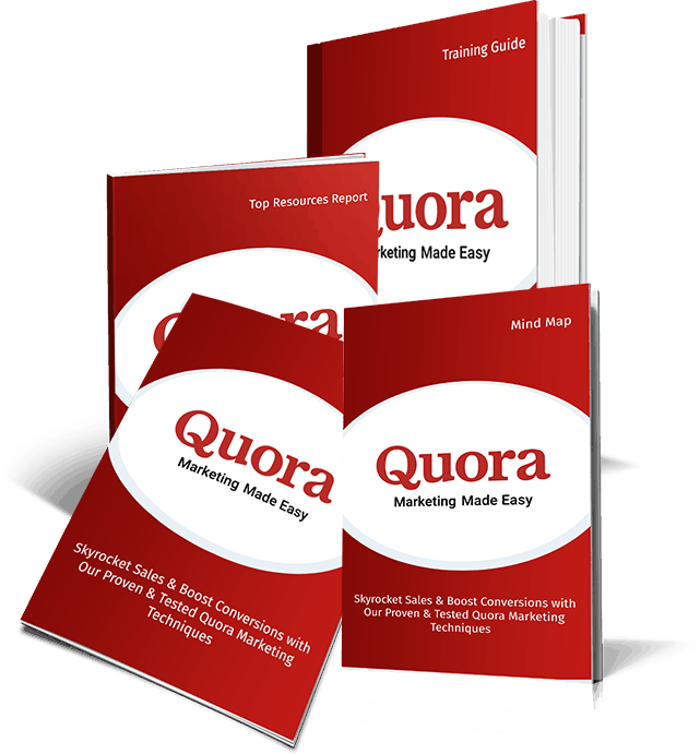 Quora Marketing Made Easy Front End Package