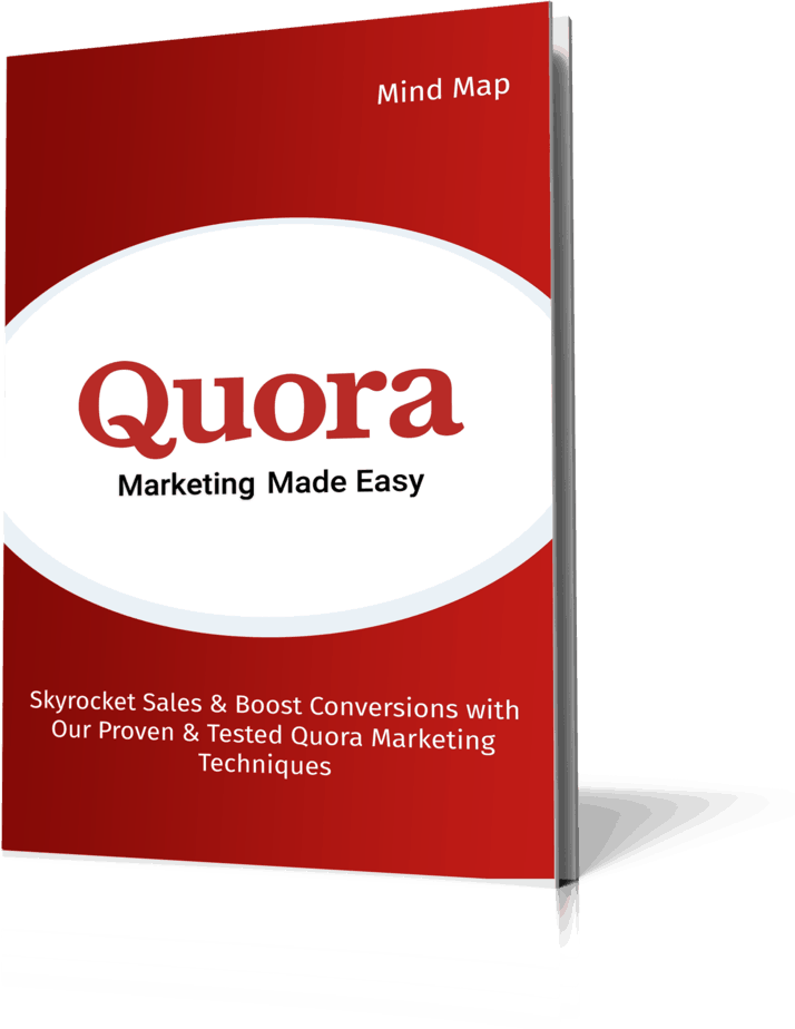 Quora Marketing Made Easy Mind Map