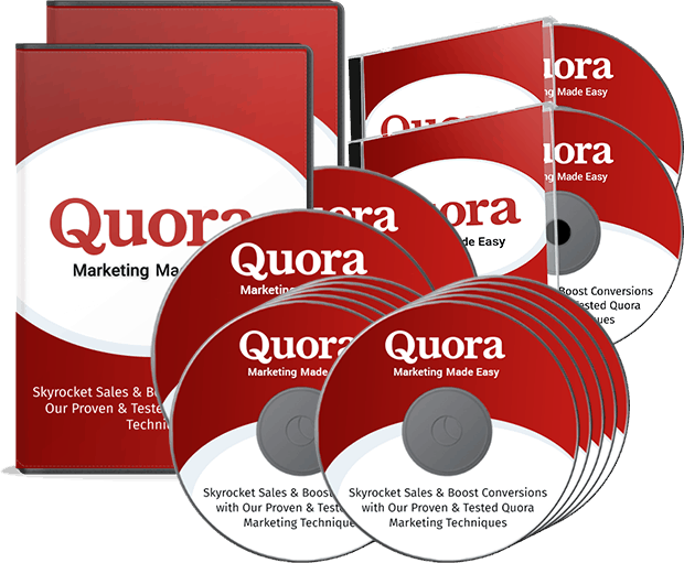 Quora Marketing Made Easy Upsell Package