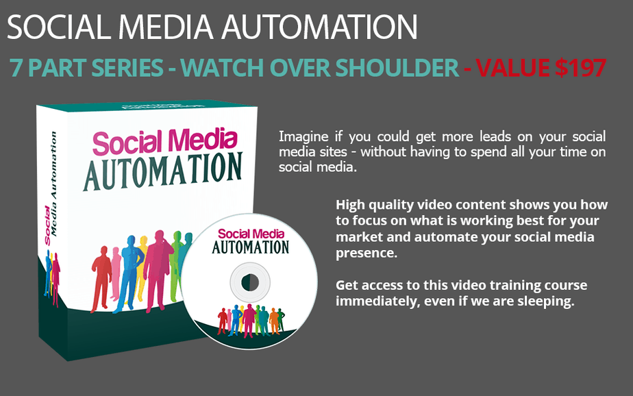 Social Media Automation PLR Videos