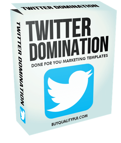 Twitter Domination Done For You Marketing Templates
