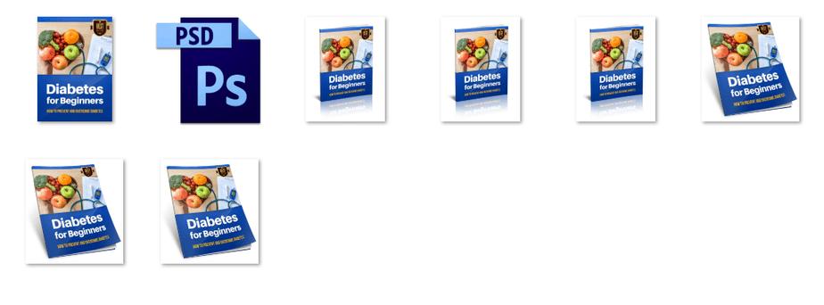 Diabetes for Beginners eBook Rebrandable Graphics
