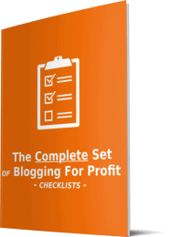 Blogtivity 20 Premium Blogging For Profit PLR Checklists