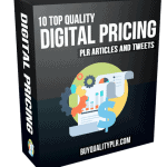 Digital Pricing PLR Articles and Tweets