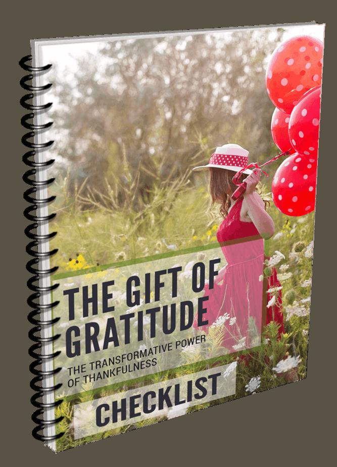 Gift Of Gratitude Checklist
