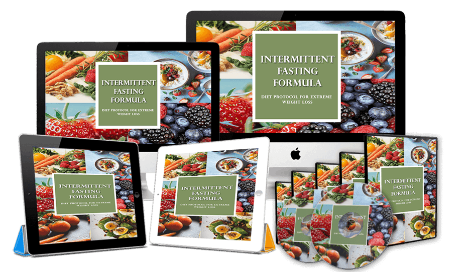 Intermittent Fasting Formula Front Upsell Bundle