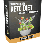 Keto Diet PLR Articles and Tweets