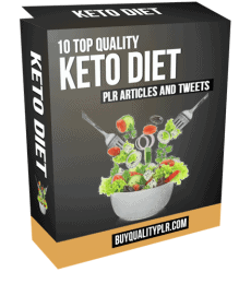 Keto Diet PLR Articles and Tweets Pack