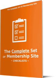 Membertivity 20 Premium Membership Sites PLR Checklists
