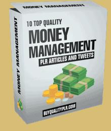 Money Management PLR Articles and Tweets