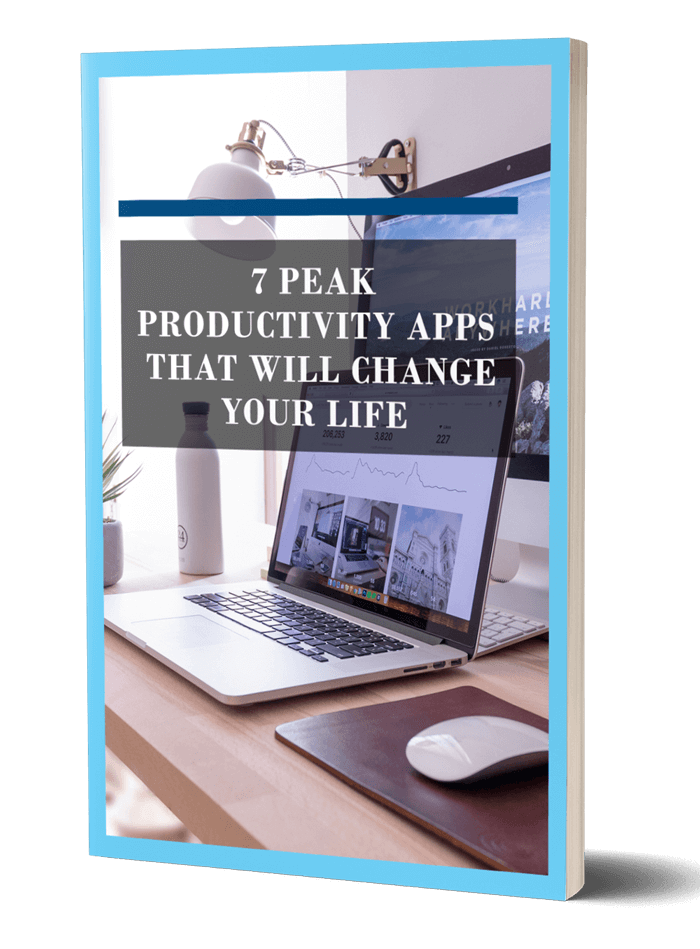 Peak Productivity Apps That Will Change Your Life Ebook