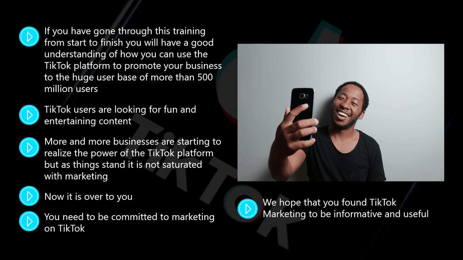 TikTok Marketing Conclusion