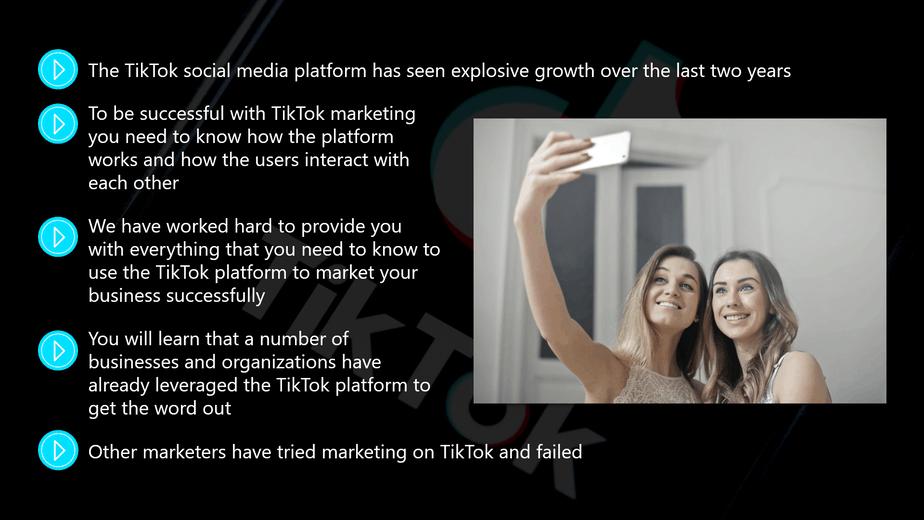 TikTok Marketing Introduction