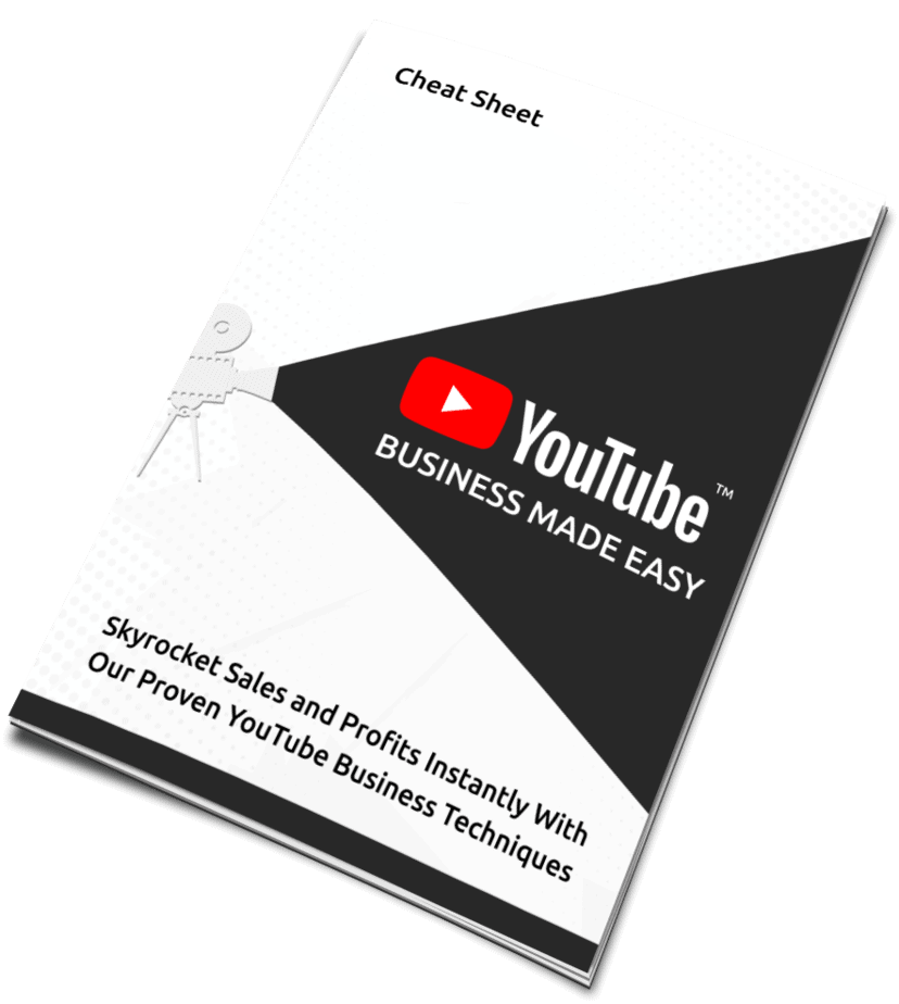 YouTube Business Made Easy Cheat Sheet