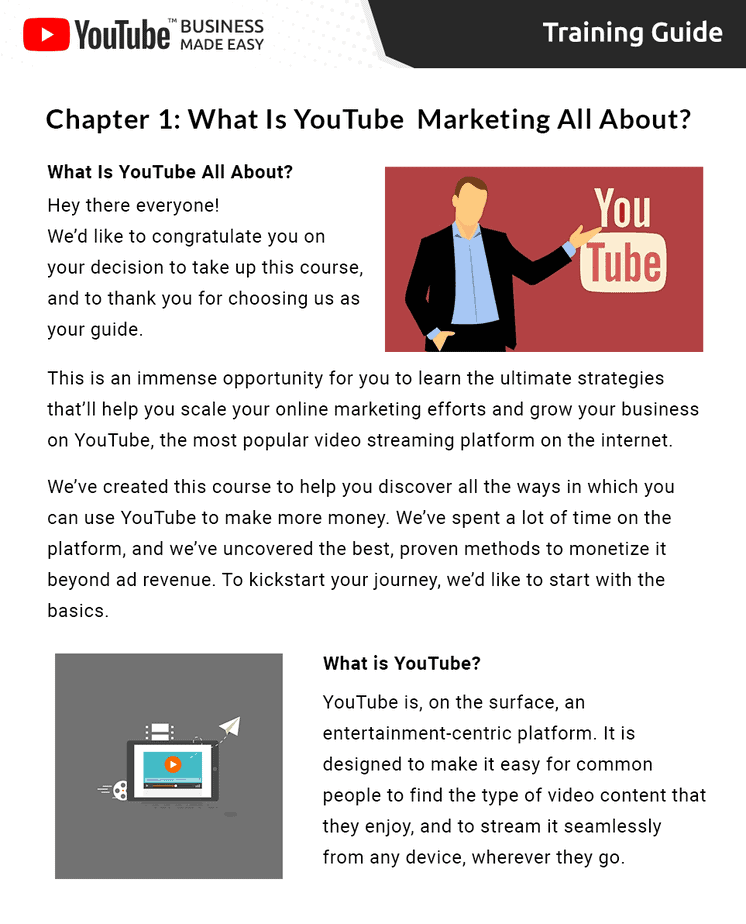 YouTube Business Made Easy Insider Look
