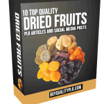 10 Top Quality Dried Fruits PLR Articles and Social Media Posts