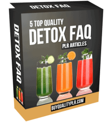 5 Top Quality Detox FAQ PLR Articles