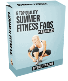 5 Top Quality Summer Fitness FAQs PLR Articles