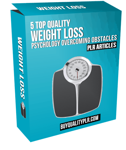 5 Top Quality Weight Loss Psychology Overcoming Obstacles PLR Articles