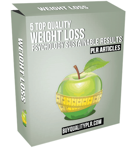 5 Top Quality Weight Loss Psychology Sustainable Results PLR Articles