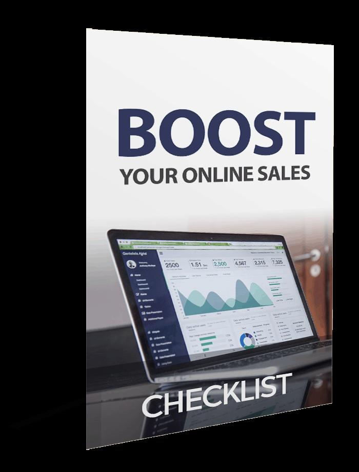 Boost Your Online Sales Checklist
