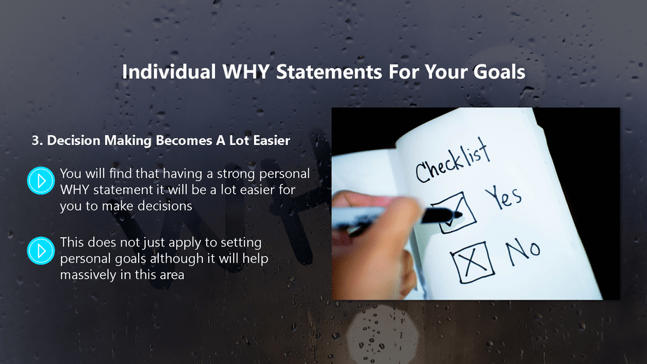 Find Your WHY To Get Unstuck Chapter 3