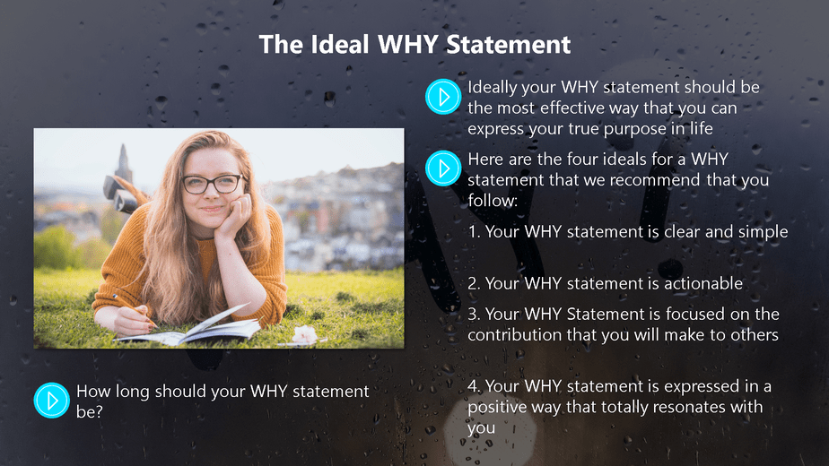 Find Your WHY To Get Unstuck Chapter 5