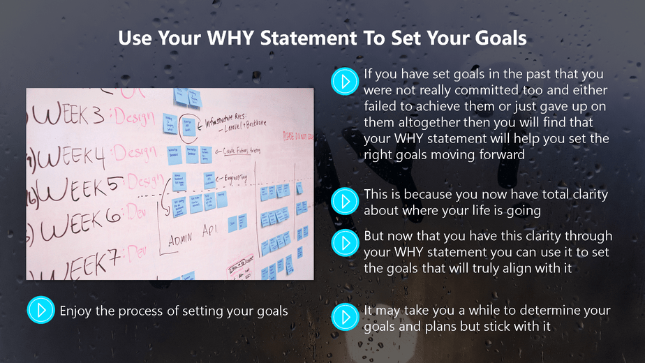 Find Your WHY To Get Unstuck Chapter 7