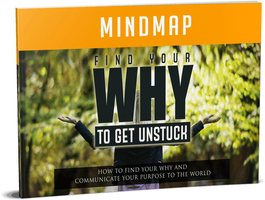 Find Your WHY To Get Unstuck Mindmap
