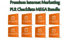 Premium Internet Marketing PLR Checklists MEGA Bundle