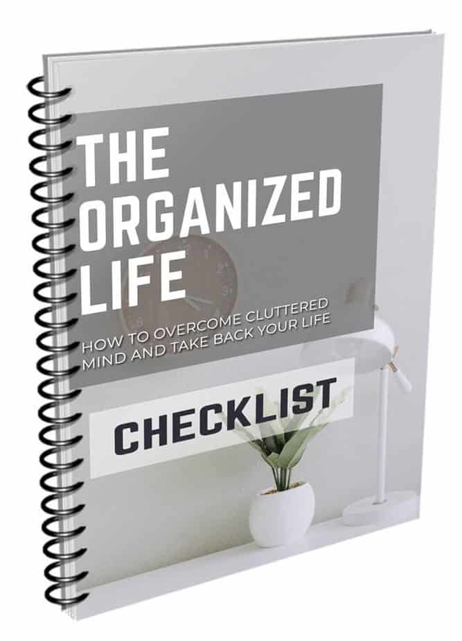 TThe Organized Life Checklist
