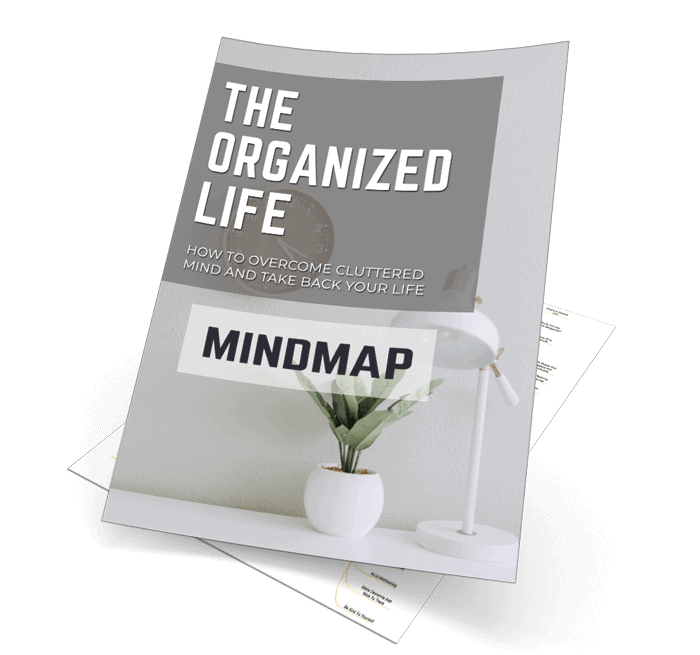 The Organized Life Mindmap