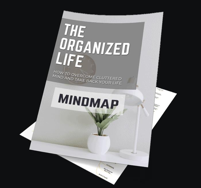 The Organized Life Mindmap