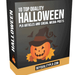 10 Top Quality Halloween PLR Articles and Social Media Posts