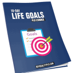 10 Top Quality Life Goals PLR Emails eCourse