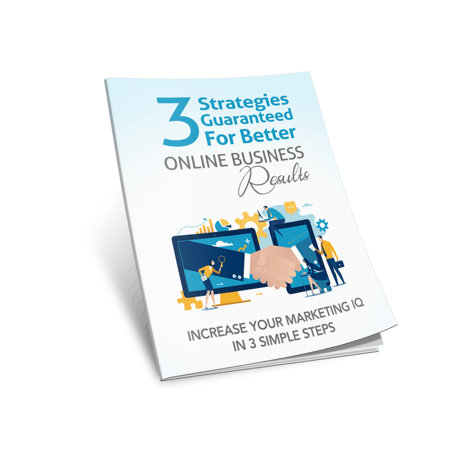 3 Strategies Guaranteed For Better Online Business Results Premium PLR Report