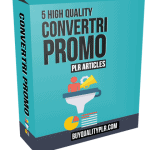 5 High Quality Convertri Promo PLR Articles