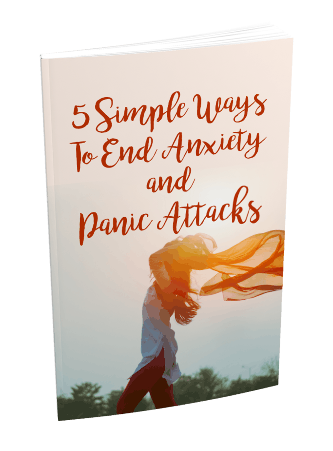 5 Simple Ways End Anxiety MRR Lead Magnet and Squeeze Page