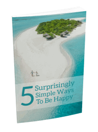 5 Suprisingly Simple Ways To Be Happy MRR Lead Magnet and Squeeze Page