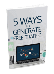 5 Ways To Generate Free Traffic MRR Lead Magnet and Squeeze Page