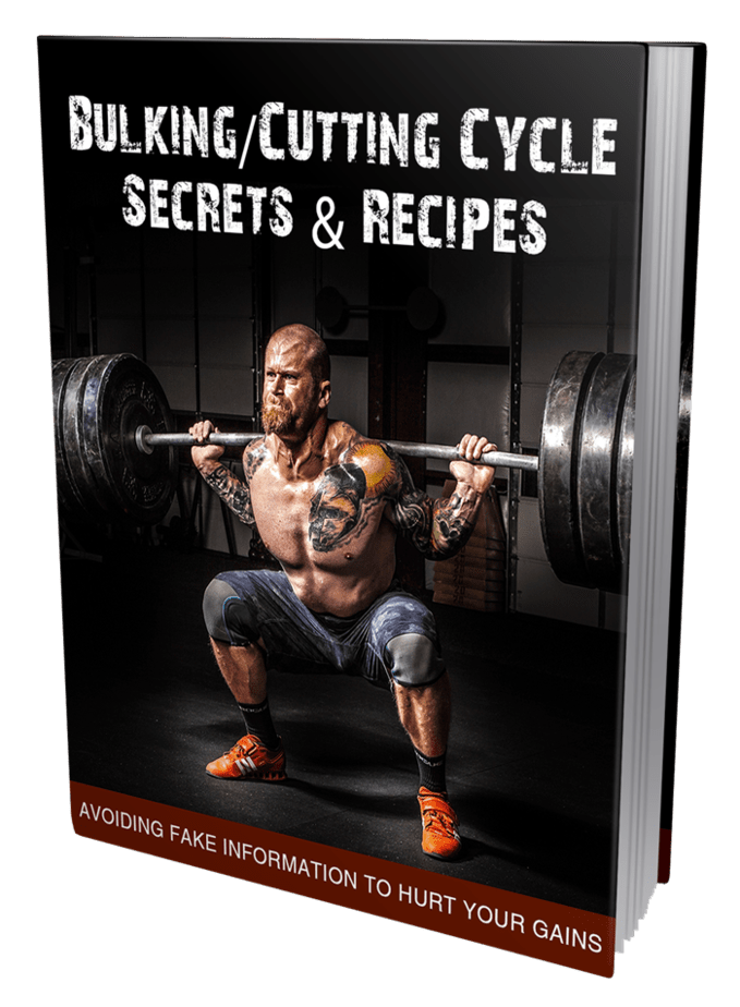 Bulking Cutting Cycle Secrets MRR Lead Magnet and Squeeze Page
