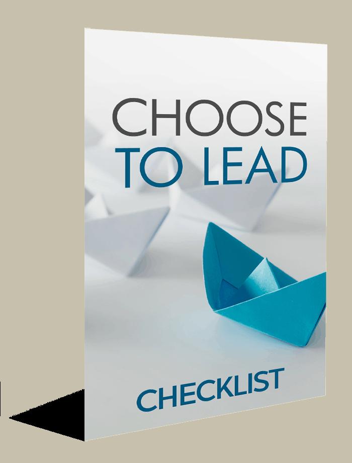 Choose To Lead Checklist