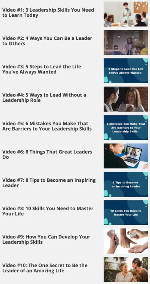 Choose To Lead Videos