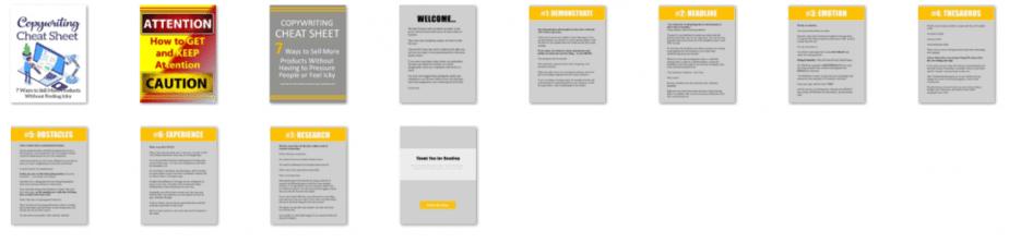 Copywriting Cheat PowerPoint Screenshots