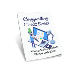 Copywriting Cheat Sheet Cover