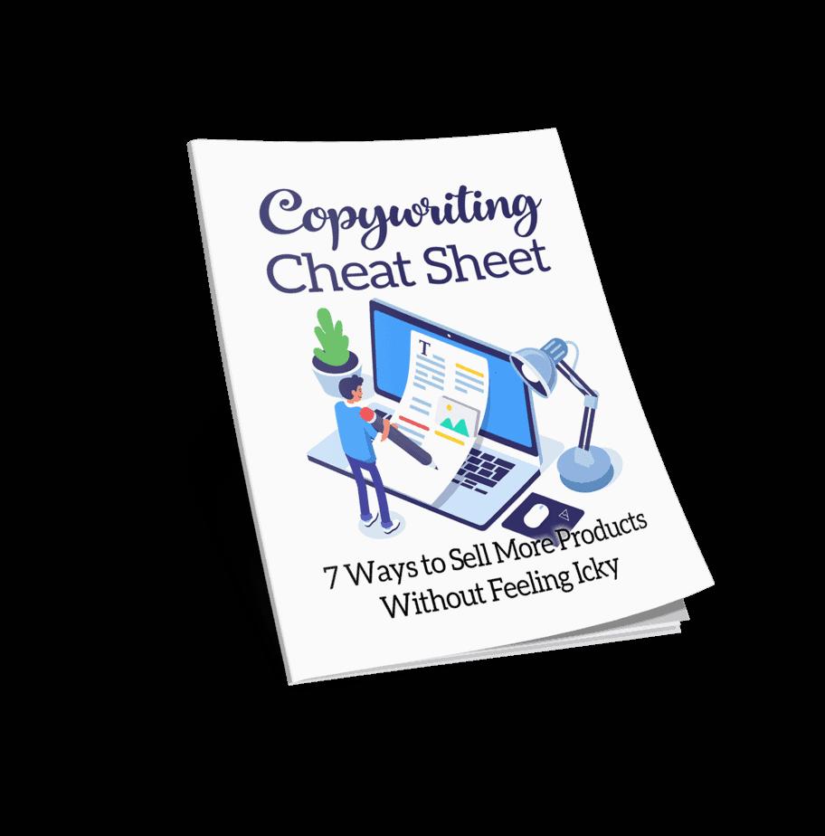 Copywriting Cheat Sheet Cover