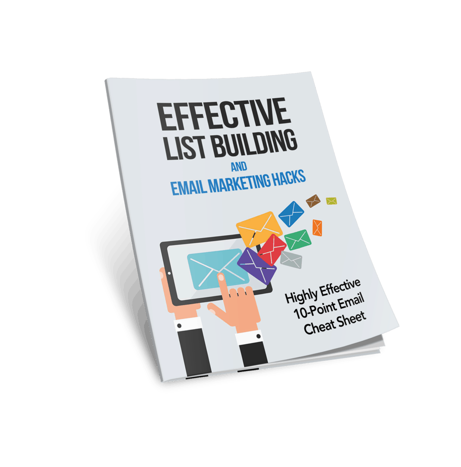 Effective List Building and Email Marketing Hacks Cover