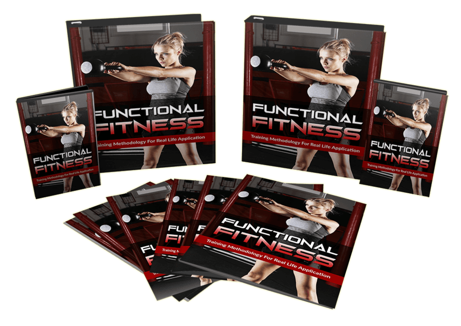 Functional Fitness Sales Funnel with Master Resell Rights