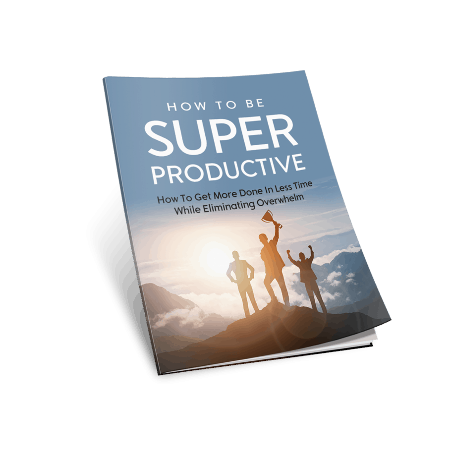 How To Be Super Productive Cover